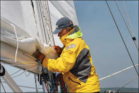The State of the Main: A Look at Sail Materials and Sailmaking Methods