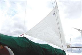 Sailrite Riding Sail