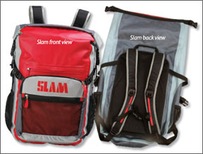 Slam front view - Slam back view