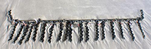 galvanized and Armorgalv-coated chain
