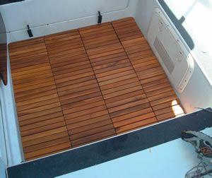 snap-together wood tiles