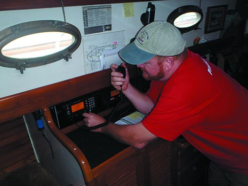 Getting Weather Data at Sea