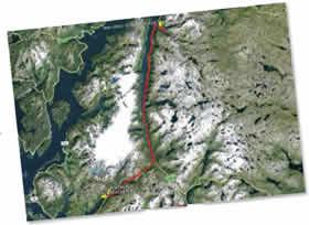 Bad Elf GPS Pro satellite images