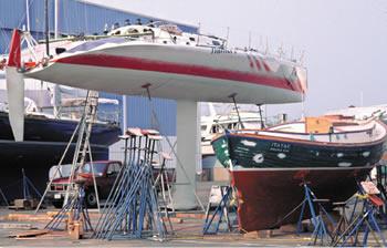 ocean racing boat