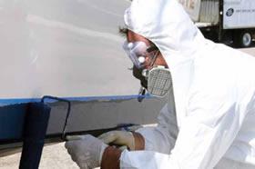 sailboat bottom paint testing