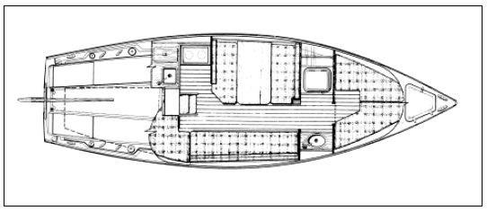 catalina 25 hull