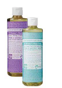 Dr. Bronner's Magic liquid soaps