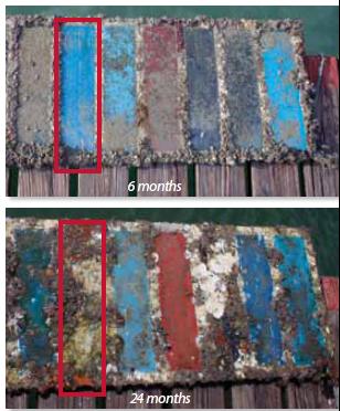 antifouling panels