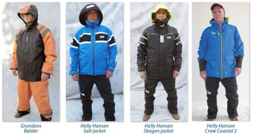 Men's foul-weather gear