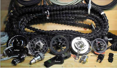 boat furling systems