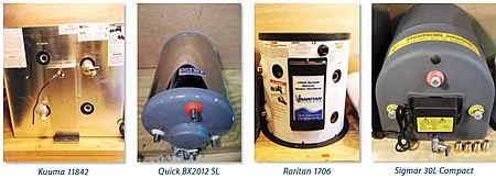 Marine Water Heater Test