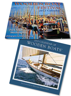 2012 Wooden Boat Festival calendar