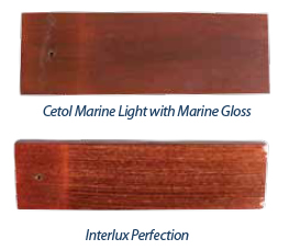 Interlux Perfection marine varnish