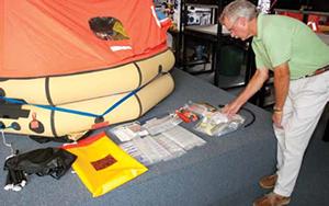 life raft inspection