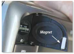 magnet latch on the e7
