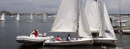 Youth sailors in Sarasota