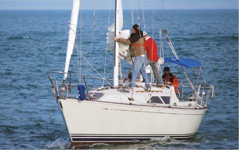 C&C 33 Mark II boat