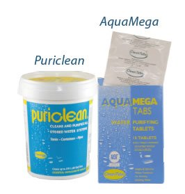 AquaMega & Puriclean tabs