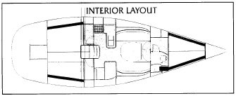 Beneteau 40.7 Interrior Layout