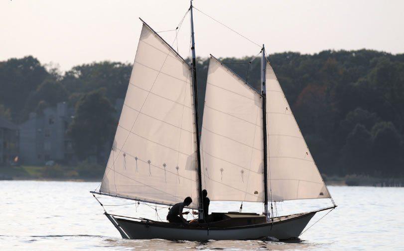gaff-rigged schooner