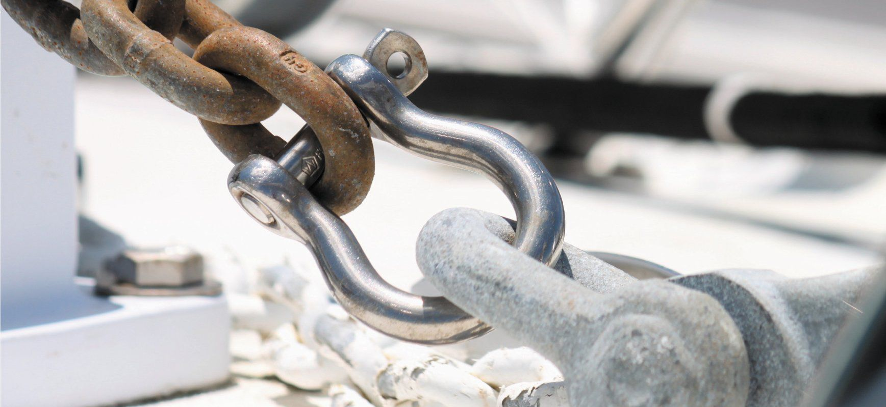 Stainless-steel shackles