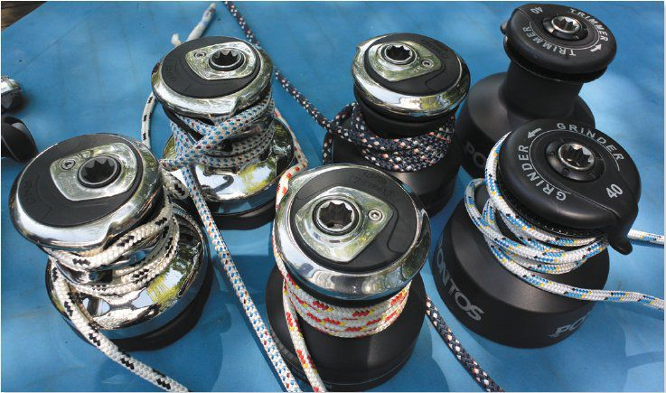 Selden and Pontos winches