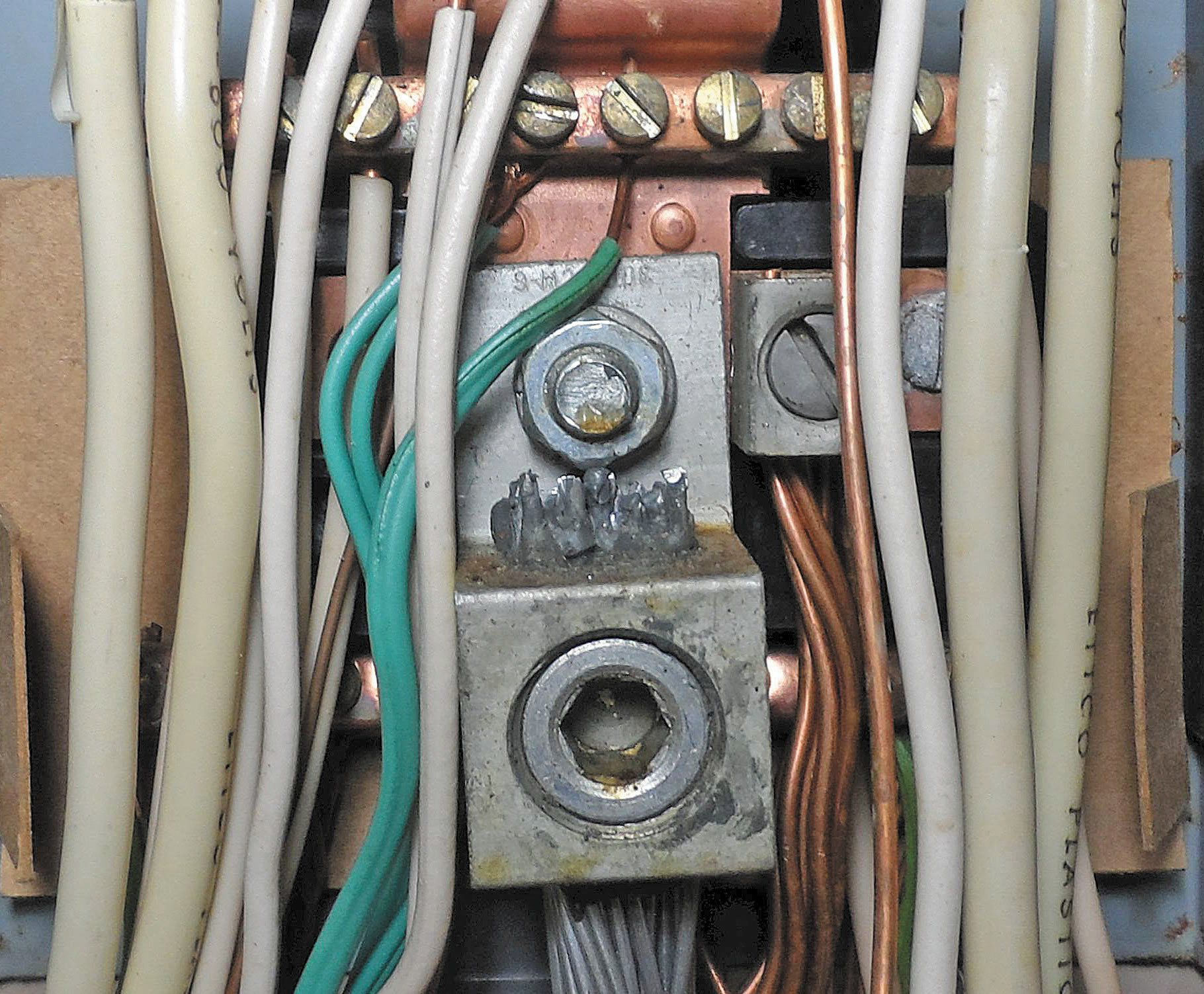 aluminum wires and unions