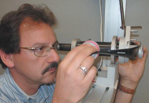 Eyewear specialist Dr. Karl Citek