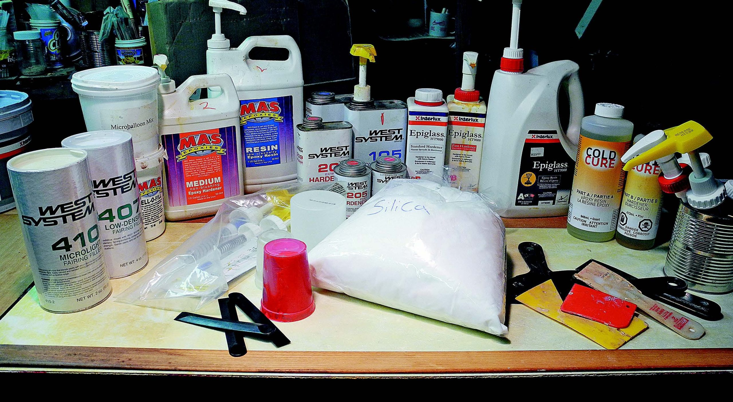 fairing compounds