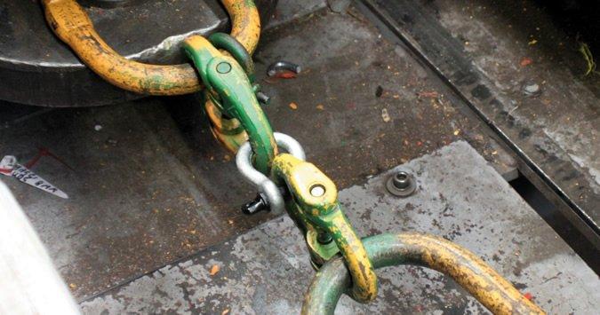 shackle chain test