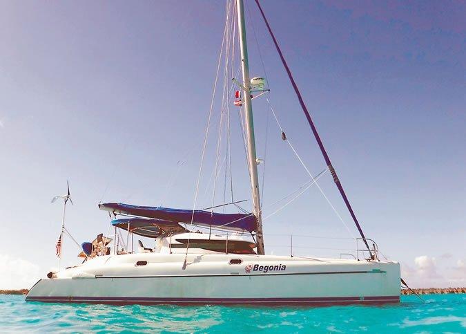 38-foot Fontaine Pajot Athena