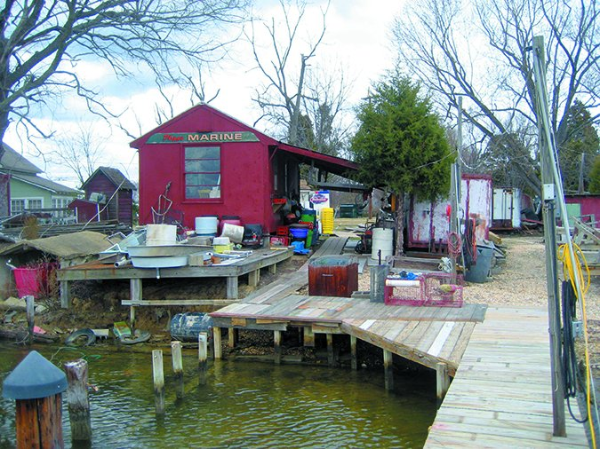 small marinas are more affordable than yacht clubs