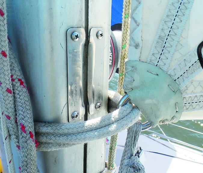 sailboat rivet inspection