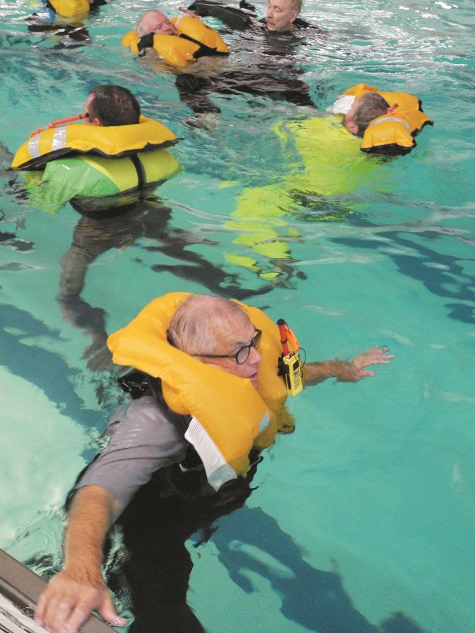 Rethinking the Use of Inflatable PFDs
