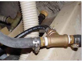 LPG cylinder storage locker ventilation