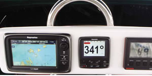 Raymarine Evolution EV-1sailboat autopilot