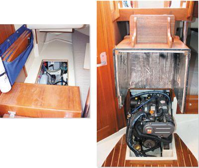 Pacific Seacraft Engine