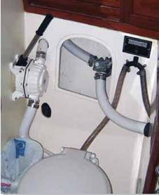 Marine Sanitation Hose Test