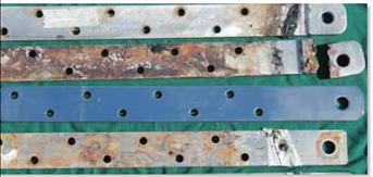 titanium chainplate