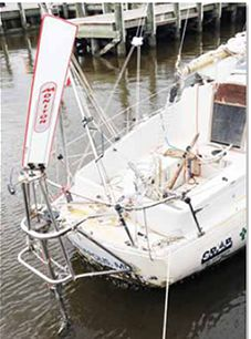 utherford's boat was in recovery mode
