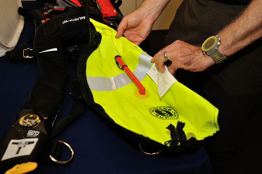 Check Expiration Dates on Auto-inflate PFDs